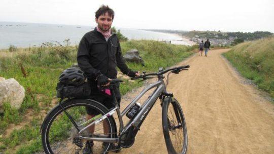 Ferme du Val Fleuri : sortie à vélo électrique avec Hugo Guillochin